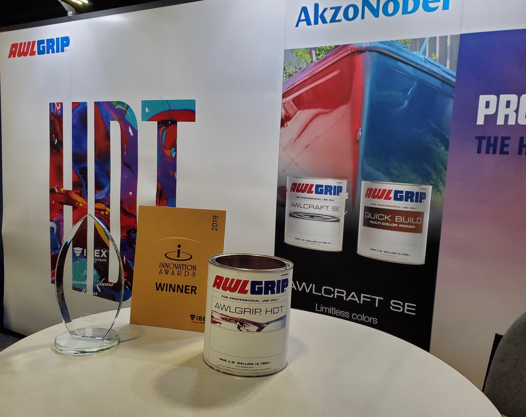 Awlgrip HDT Win at IBEX
