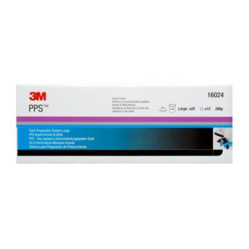 3M PPS LARGE LIDS & LINERS 200 MICRON FILTER X 25