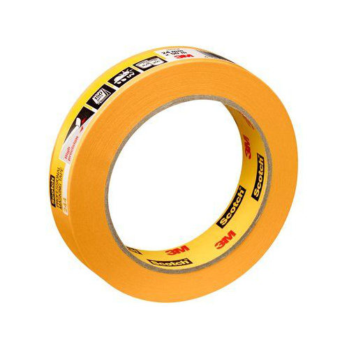 3M 244 25MM YELLOW MASKING TAPE