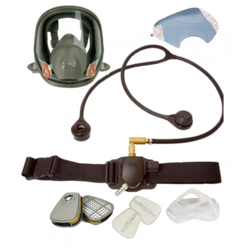 3M 6000 FULL FACE MASK REGULATOR AND FILTERS