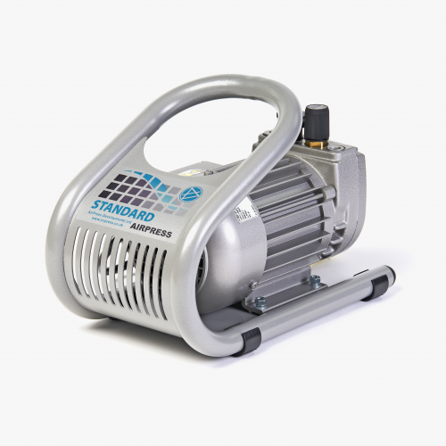 AIRPRESS STANDARD MAINTENANCE FREE VACUUM PUMP (4M3/HR) (WITH STAND)