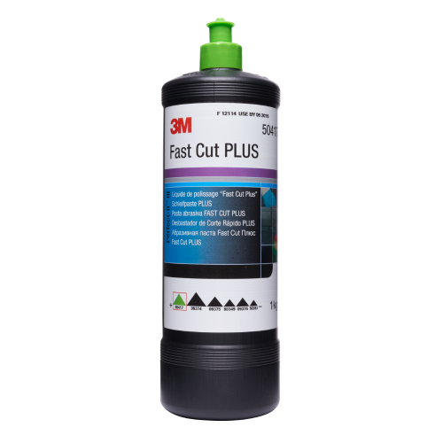 3M PERFECT-IT FAST CUT PLUS COMPOUND 1LT (GREEN TOP)