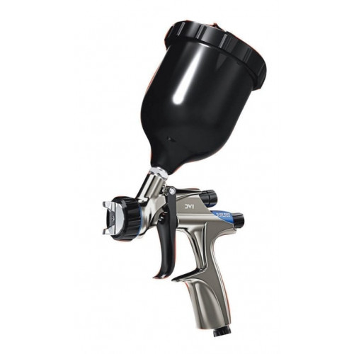 DV1 Basecoat Spray Gun and Cup with HV