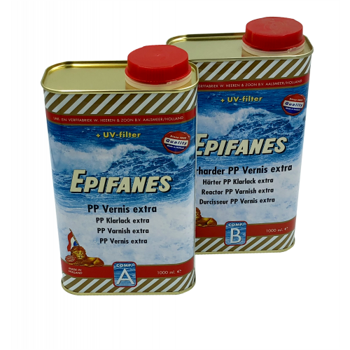 EPIFANES PP EXTRA-FAST DRY CLEAR VARNISH 2LT PACK