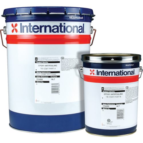 INTERNATIONAL EPOXY A/F TIE COAT BASE 4L