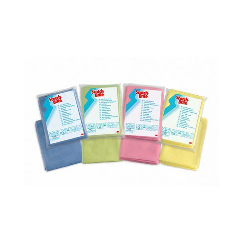 3M HIGH PERFORMANCE CLOTH BLUE PACK OF 50