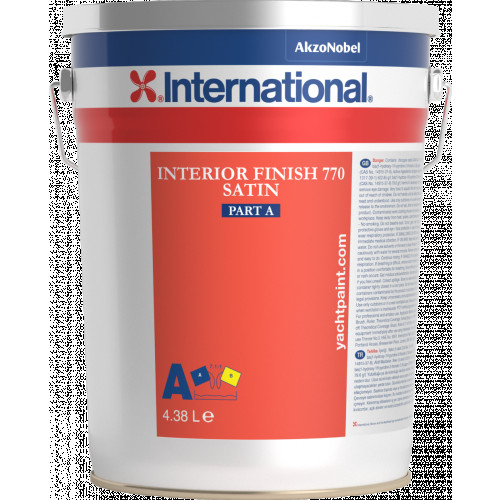 INTERNATIONAL INTERIOR FINISH 770 SATIN WHITE 4.32LT(CREAMY WHITE)