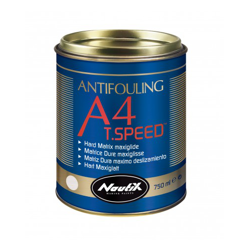 NAUTIX A4 T.SPEED WHITE ANTIFOUL 750ML