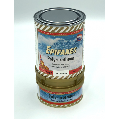 EPIFANES PU SATIN CLEAR