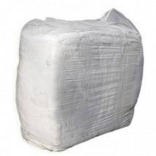 WHITE COTTON RAGS 10KG