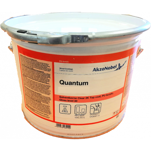 QUANTUM Q-T261-05 5% DEAD MATT BASE 20LT (CL-TM)