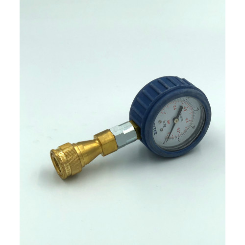 VAC GAUGE 63MM DIA WITH NON RETURN SOCKET