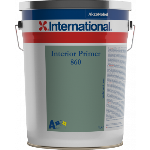 INTERNATIONAL INTERIOR PRIMER 860 WHITE BASE 4LT
