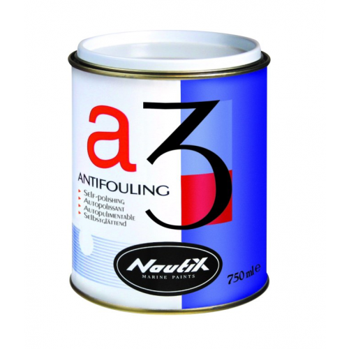 NAUTIX A3 ANTIFOUL DARK GREY 2.5LT