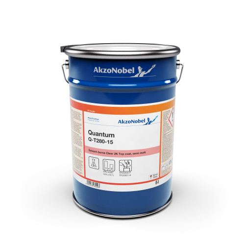 AKZONOBEL QUANTUM CLEAR SEMI MATT Q-T280