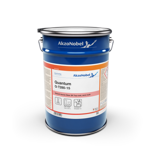 AKZONOBEL QUANTUM Q-T260-15 CLEAR MATT TOPCOAT