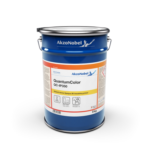 AKZO NOBEL QUANTUM COLOUR QC-IP350 ISOLATING PRIMER WHITE 5KG