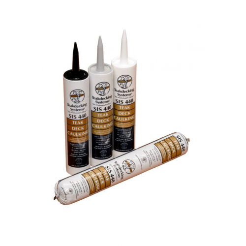 TDS TEAK DECK CAULK BLACK CARTRIDGE 305 ML